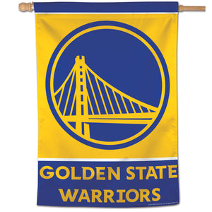 "Golden State Warriors Vertical Flag 28""x40"""