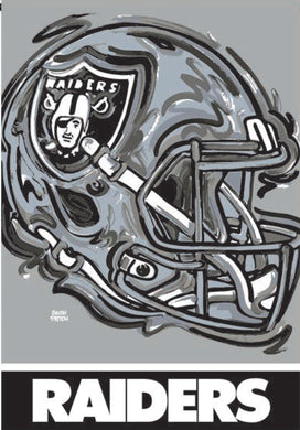 Las Vegas Raiders Mascot House Flag