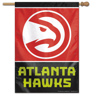 "Atlanta Hawks Vertical Flag 28""x40"""