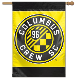 "Columbus Crew SC Vertical Flag 28""x40"""