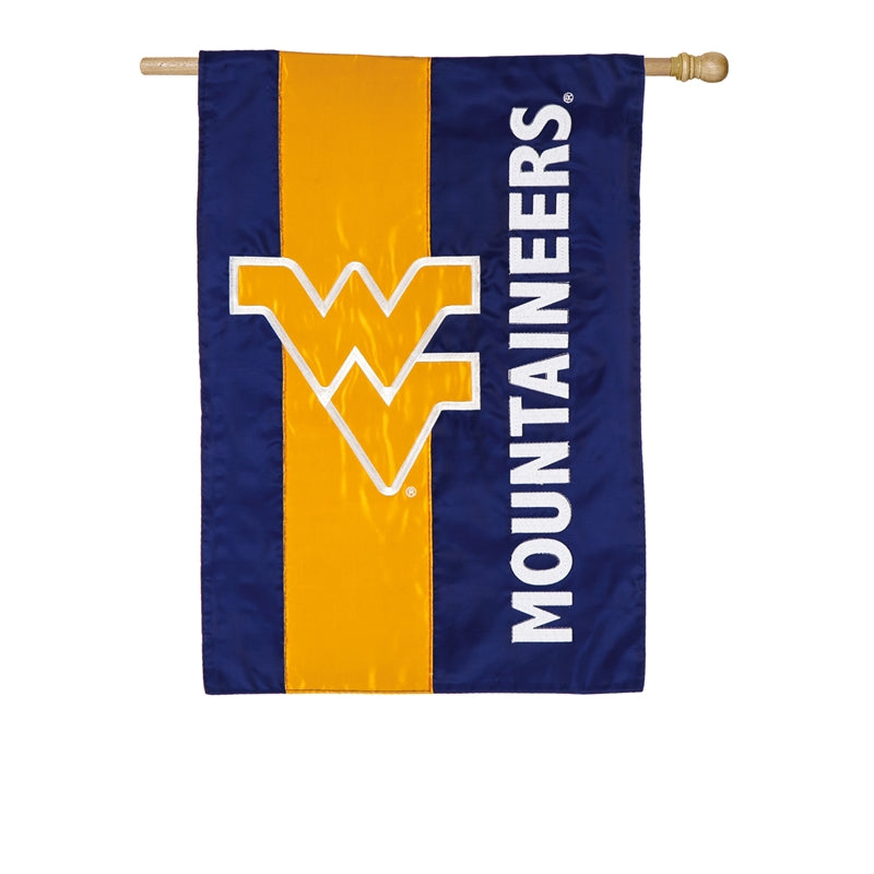 West Virginia Mountaineers  Double-Sided House Flag