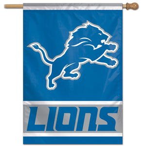 "Detroit Lions Vertical Flag - 28""x40"" #1"