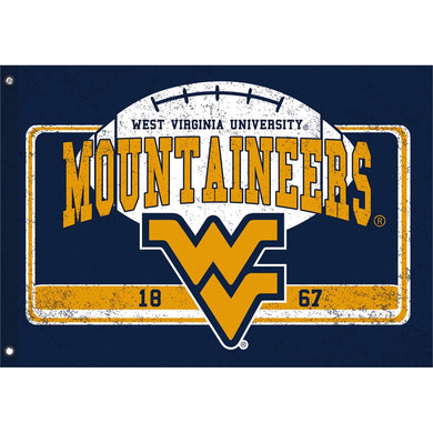 West Virginia Mountaineers Oversized 2-Sided House Flag
