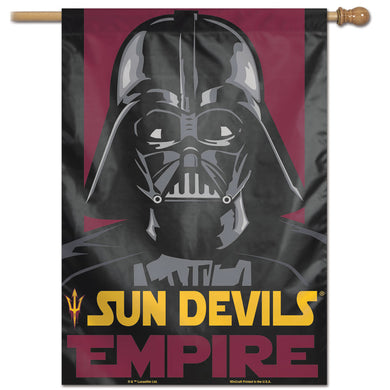 Arizona State Sun Devils Star Wars Darth Vader Vertical Flag 28