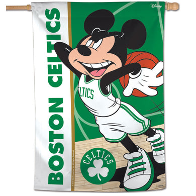 Boston Celtics Mickey Mouse Vertical Flag 28
