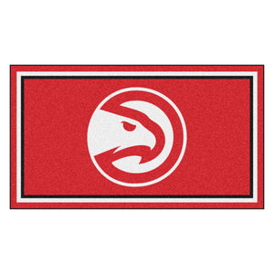 Atlanta Hawks Plush Rug - 3'x5'