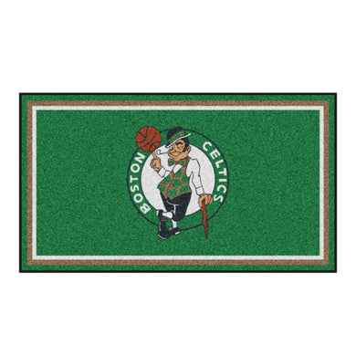 Boston Celtics Plush Rug - 3'x5'