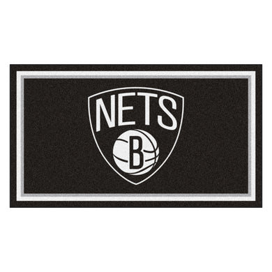 Brooklyn Nets Plush Rug - 3'x5'
