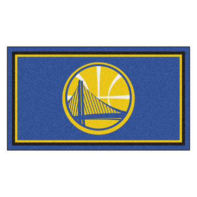 Golden State Warriors Plush Rug - 3'x5'
