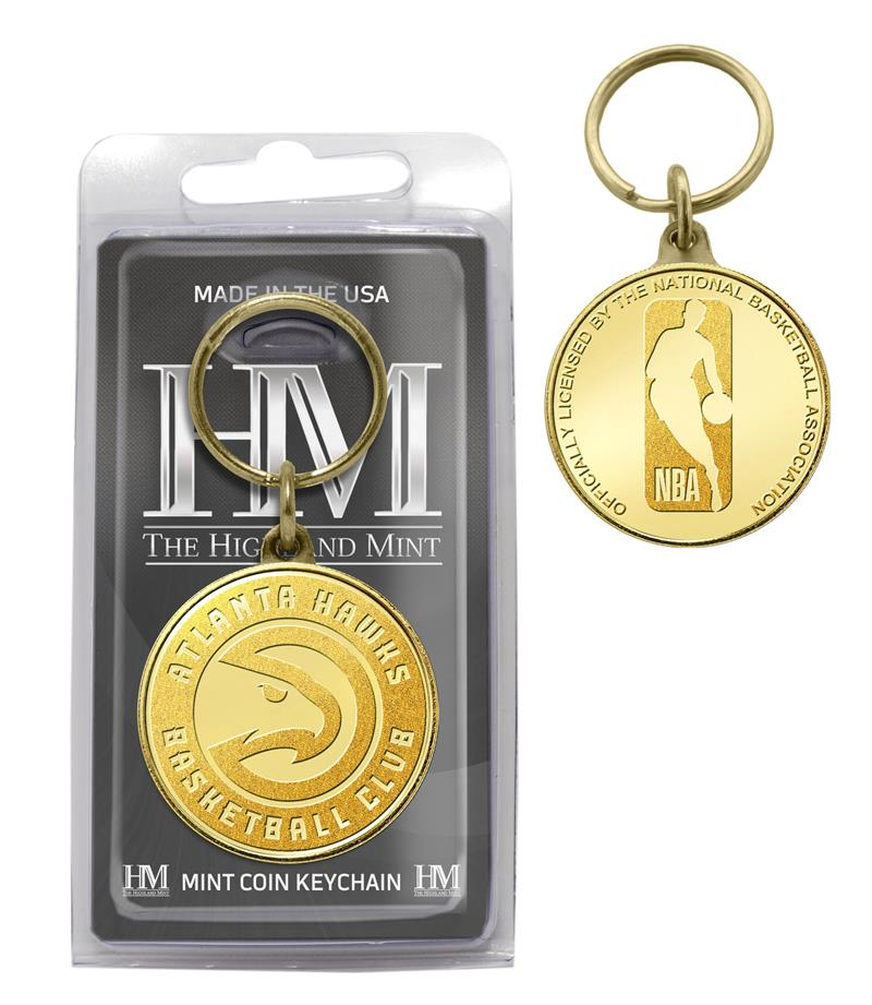 atlanta hawks key chain