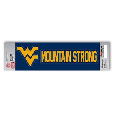 wvu decal, wvu sticker, west virginia mountaineers sticker, west virginia mountaineers decal