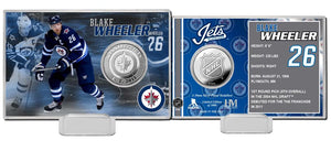Blake Wheeler Winnipeg Jets Silver Coin Card