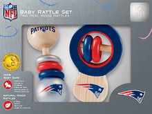 New England Patriots Baby Rattles Set
