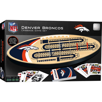 Denver Broncos Cribbage Game