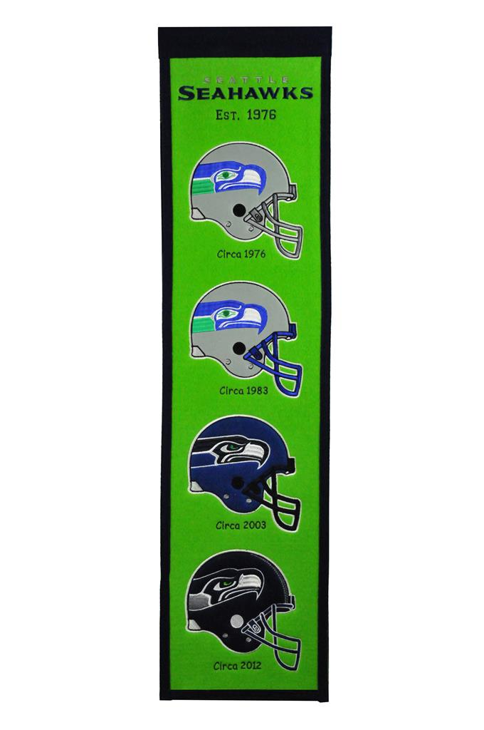 Seattle Seahawks Fan Favorite Heritage Banner - 8