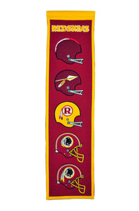 "Washington Redskins Heritage Banner - 8""x32"""