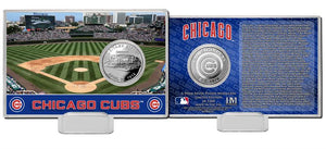 Chicago Cubs Silver Coin Card