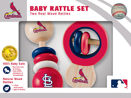 st. louis cardinals rattles, baby toy