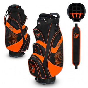 Baltimore Orioles Bucket Cooler Cart Golf Bag