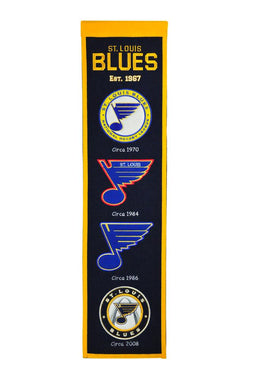 St. Louis Blues Heritage Banner - 8