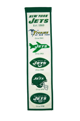 New York Jets Heritage Banner - 8