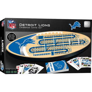 Detroit LIons Cribbage Game