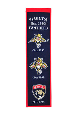 Florida Panthers Heritage Banner - 8
