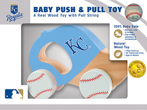 Kansas City Royals Push and Pull Toy