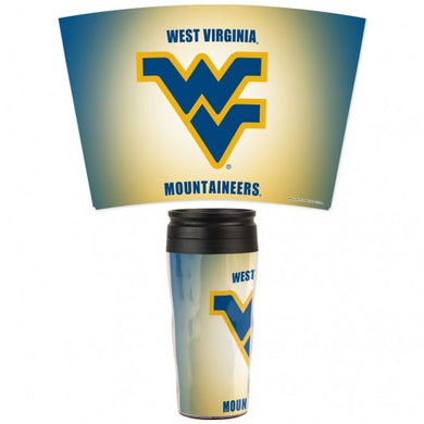 west virginia mountaineers travel mug