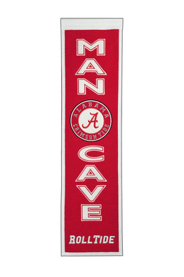 Alabama Crimson Tide Man Cave Banner - 8