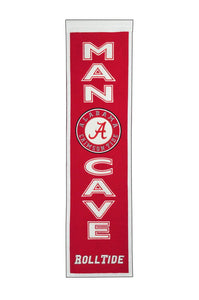 "Alabama Crimson Tide Man Cave Banner - 8""x32"""