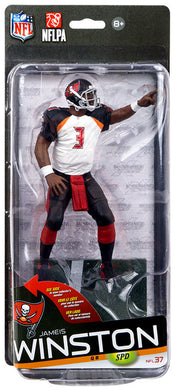 Jameis Winston Tampa Bay Buccaneers McFarlane NFL 37 Action Figure White Jersey