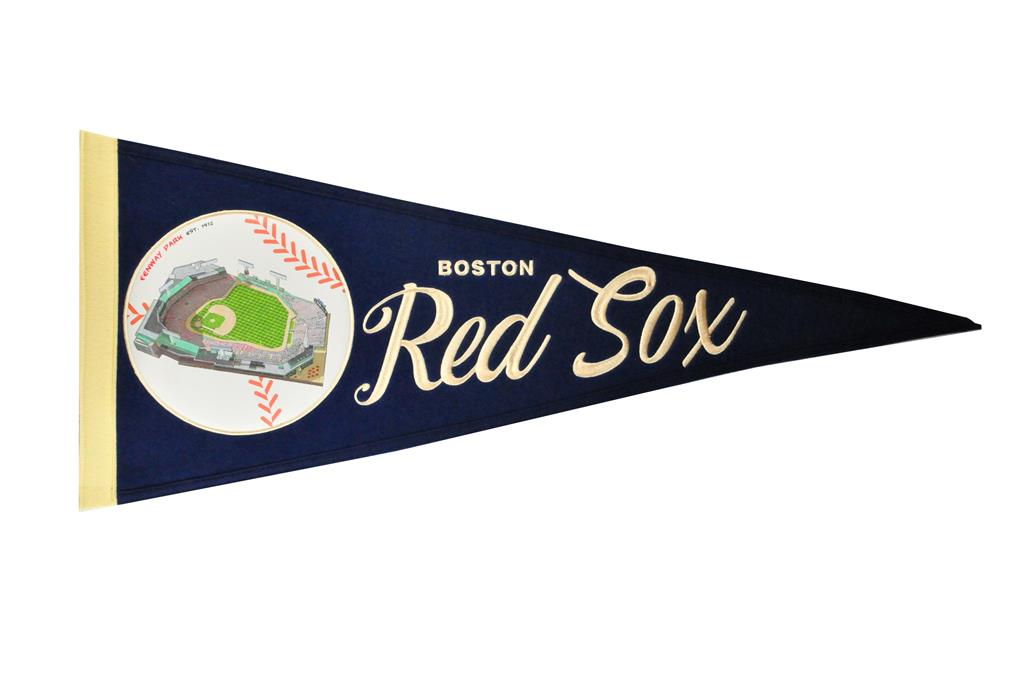 Boston Red Sox Vintage Ballpark Traditons Pennant