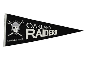 Oakland Raiders Throwback Pennant