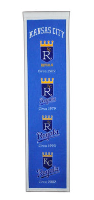 Kansas City Royals Heritage Banner - 8