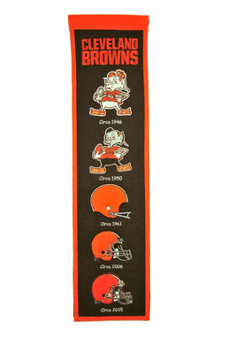Cleveland Browns Heritage Banner - 8