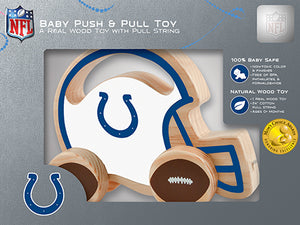 Indianapolis Colts baby Push and Pull Toy, NFL Kids Toys