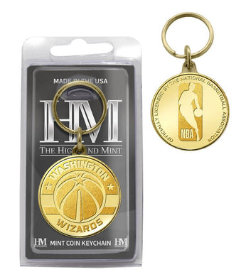 Washington Wizards Coin Keychain