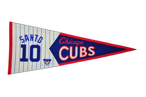 Ron Santo Chicago Cubs Legends Pennant
