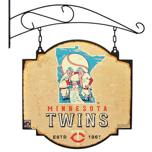 Minnesota Twins Vintage Vintage Tavern Sign