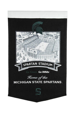 Michigan State Spartans Stadium Banner - 15