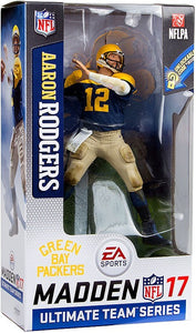 NFL collectibles Aaron Rodgers EA Sports Madden 17 action figure from Sports Fanz