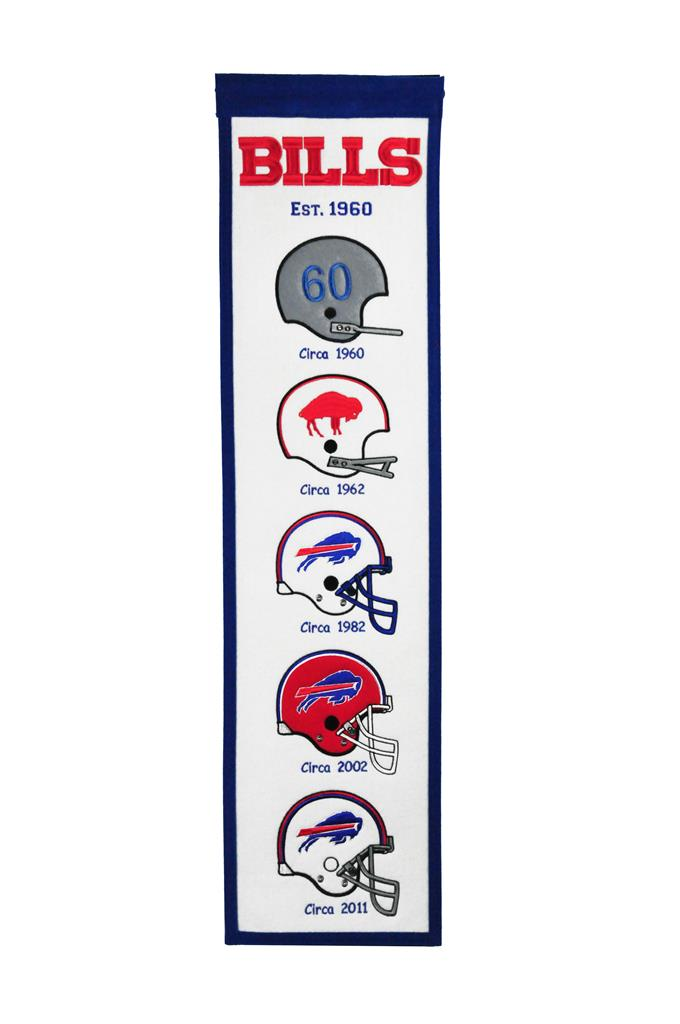 Buffalo Bills Stadium Fan Favorite Heritage Banner - 8