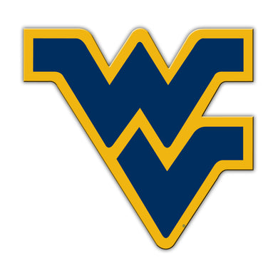 wvu car magnet, wvu flying wv magnet