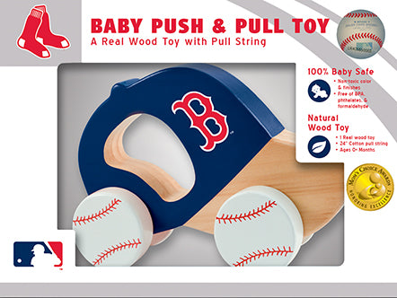 Boston Red Sox Push and Pull toy