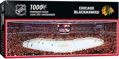 Chicago Blackhawks Panoramic Puzzle