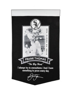 "Frank Thomas Chicago White Sox Icon Collection Banner - 15""x24"""
