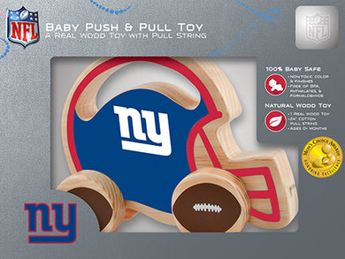 New York Giants Baby Push and Pull Toy, NFL Kids Toys