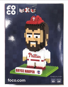 Bryce Harper Philadelphia Phillies BRXLZ 3D Mini Player