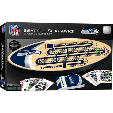 Seattle Seahawks Cribbage Game